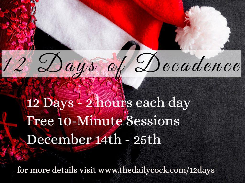 12 days free phonesex